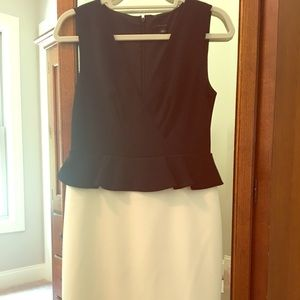 NWOT Ann Taylor Peplum Sheath Dress sz 4